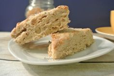 Candied Ginger Scones - In honour of Jamie's stomach.