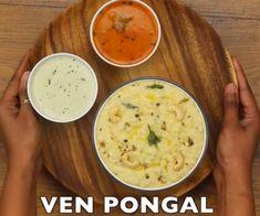 Screenshot (24) Ven Pongal Recipe, Recipe Steps, Cheeseburger Chowder, Soup, Recipes, Recipies, Soups, Ripped Recipes, Cooking Recipes