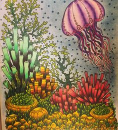 From the Hanna Karlzon colouringbook Dagdrömmer, Daydreams.