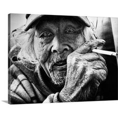 Canvas On Demand Cigarette by Tatsuo Suzuki Photographic Print on Canvas