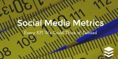social media metrics defined