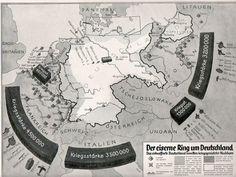 """Propaganda sobre el """"Cerco"""" a Alemania."""