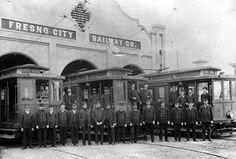 Fresno City Railway Co. Photo, Click for full size