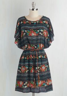 Altogether Entrancing Dress. Youre a vision from head to toe as you glide through your day in this floral dress!  #modcloth