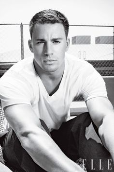 Tatum Channing, he's looking into my soul