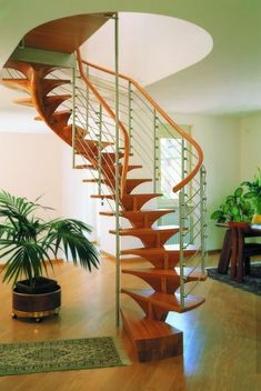 Wood Staircase In Staircase Color Theme With Modern Style   Stair Art,  Modern Stair,