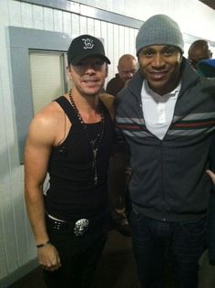 Donnie Wahlberg With LL Cool J