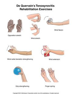 Image detail for -De Quervain's Tenosynovitis Rehabilitation Exercises Occupational Therapist, Physical Therapist, Physical Pain, Tennis Arm, K Tape, Physical Therapy Exercises, Sports Medicine, Anatomy And Physiology, Massage Therapy