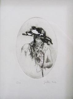 """Xavier Jallais - """"Autographie, engraving - Engraving, 21 x (cm) Portrait, Men Portrait, Portrait Illustration, Portraits"""