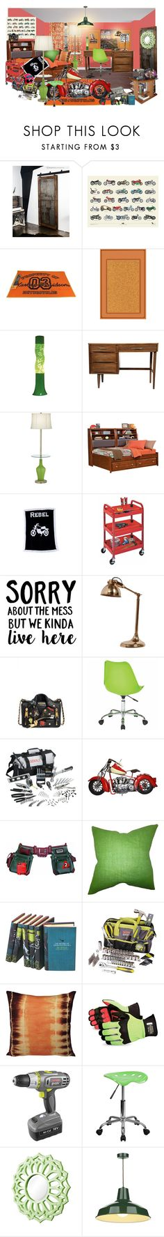 """""""tough chic"""" by sterlingkitten on Polyvore featuring interior, interiors, interior design, home, home decor, interior decorating, Improvements, Moschino, BMW and Pacha"""