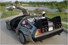 The Delorean - back to the past?