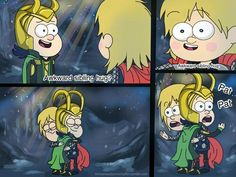 Aww thor and gravity falls crossover is my favourite thing