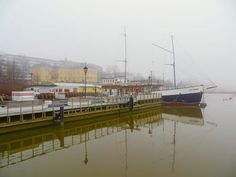 Foggy harbor in Vaasa town Finland Travel, Helsinki, All Over The World, Denmark, Norway, Sweden, Landscapes, Places, Projects