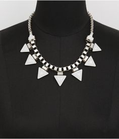 enameled spiked statement necklace Get 5% Cash Back http://www.studentrate.com/itp/get-itp-student-deals/Express-5percent-Student-Discount--/0