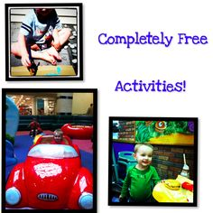 Free activities for toddlers.
