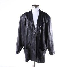 Gio Di Vanni Women's Leather Jacket SIZE 40 Black Embossed Soft Supple Paris VTG #GioDiVanni #BasicJacket #Casual