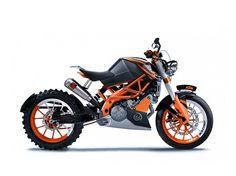 KTM Duke 390  ahhh! I love this bike!
