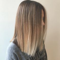 25 Alluring Straight Hairstyles for 2018 (Short, Medium & Long Hair . 25 Alluring Straight Hairstyles for 2018 (Short, Medium & Long Hair . Balayage Straight, Blonde Balayage, Blonde Straight Hair, Balayage Hair Blonde Medium, Long Bob Balayage, Balyage Hair, Blonde Ends, Balayage Highlights, Ash Blonde