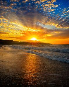 Sunrise Pictures, Sunset Photos, Nature Pictures, Beach Sunset Painting, Sunset Beach, Sunrise And Sunset, Summer Sunset, Beautiful Nature Scenes, Beautiful Sunrise
