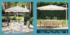 Best Patio Umbrellas Best Patio Umbrella, Outdoor Patio Umbrellas, Outdoor Decor, Offset Umbrella, Market Umbrella, Outdoor Seating Areas, Backyard, Patio