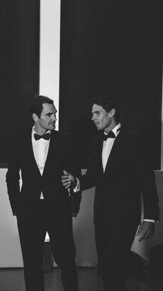 Roger Federer & Rafael Nadal  Laver Cup 2019