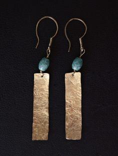 brass & turquoise/ορείχαλκος & τυρκουάζ