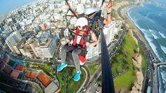 Paragliding über Lima