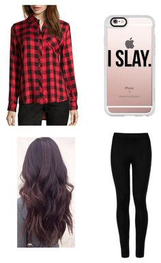 """""""#OOTD (17/4/16) Read D"""" by sharifabakhtani ❤ liked on Polyvore featuring Wyatt, Wolford and Casetify"""