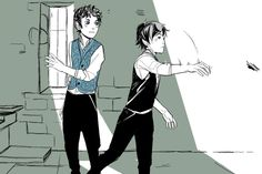 From Cassandra Jean ...  james 'jem' carstairs, the infernal devices, william 'will' herondale
