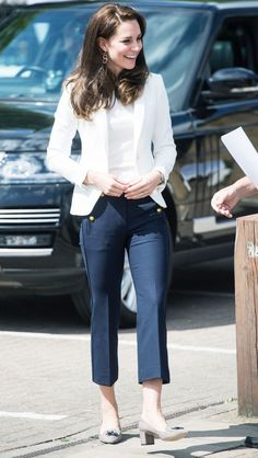 Kate Middleton Wearing Zara and J.Crew