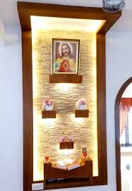 decorating ideas for living room with corner fireplace rectangular rooms prayer room-best architects in kerala | interior design ...