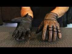Speed and Strength Rust & Redemption Gloves from Motorcycle-Superstore.com - YouTube
