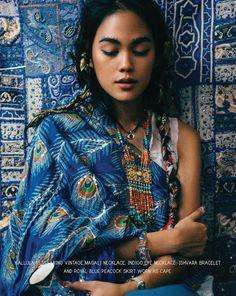 #blue #indigo #textiles