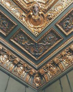Mansion Tereschenko. A baroque ceiling in the ladies' boudoir.   #gold #gallery #inspiration #interior #design #detail #architecture #kievpics #kievlook #kievnow #kievday #kiev #kievgram #kievtoday #vsco #vscokiev #vscoua #visualukraine #ukraine #visual #museumsofukraine #lifestyle #photography