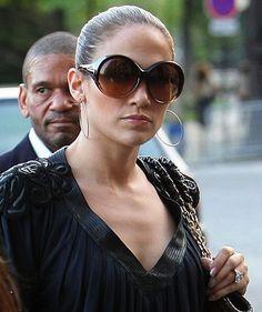 e6e9b1b6c6 Jennifer Lopez wearing Tom Ford Alessandra sunglasses Celebrity Sunglasses
