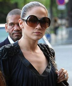 I really wanted these, and could never find them. One day, I hope I find a pair  Jennifer Lopez wearing Tom Ford Alessandra Sunglasses