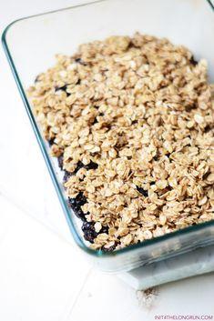 Healthy Blackberry Crisp
