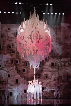Scene from the Ballet: The Most Incredible Thing by Hans Christian Andersen