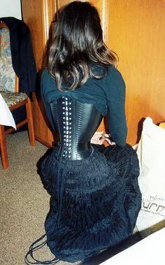 Discipline Femdom corset