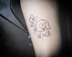 Dog Tattoos, Tatoos, Puppy Tattoo, Tattoo Designs, Tattoo Ideas, Maltese, Henna, Tatting, My Favorite Things