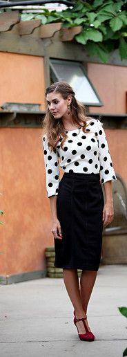 Dear SF, I just bought a black skirt like this Merissa