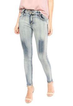 Calça Jeans Colcci Fátima Skinny Azul