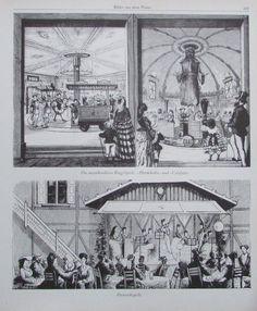 BILDER AUS DEM PRATER Ringelspiel und Damenkapelle Wien Drucke