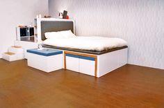 matroshka, tiny space design, space saving furniture, nesting furniture, small house design, green design, compact living