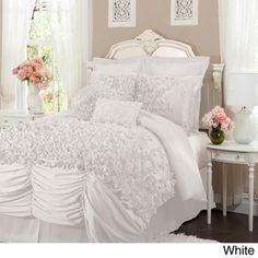 L'Amour Eternel Lucia 4-piece Comforter Set   Overstock.com