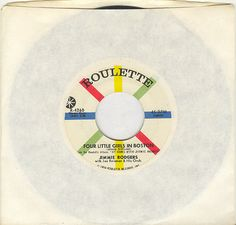 Jimmie Rodgers 45 rpm Four Little Girls in Boston by vinylplus