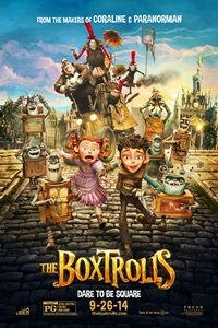 #TheBoxtrolls Eggs, a young orphaned boy raised by underground mischievous creatures, must venture above ground and team up with the feisty Winnifred to save his family from the evil exterminator Archibald Snatcher. Will #IassacHempsteadWright and #ElleFanning be able to save the Boxtroll community?