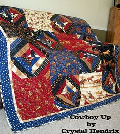 Cowboy Up Quilt {Moda}
