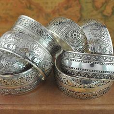Fábrica venta al por mayor de la joyería tibetana brazaletes de plata de época antiguos tibetanos brazaletes de puño de plata ( pedido mínimo USD10 ) en Brazaletes de Joyas y accesorios en AliExpress.com | Alibaba Group