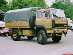 New Trucks, Military Vehicles, Cars And Motorcycles, Techno, Vintage Cars, Cool Cars, Czech Republic, Rigs, Commercial